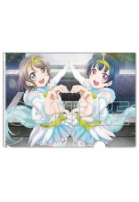 Love Live! Sunshine!! Clear File Folders TWILIGHT TIGER & UNICORN BLIZZARD